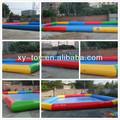 Logotipo de boas-vindas de piscina inflável, adulto inflável piscina, grande piscina inflável
