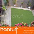 25mm jardim artificial turf