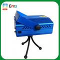 Nuevo diseño de mini multifunción caja de luz láser de color rojo& verde luz de la etapa precio promation
