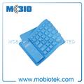 Bluetooth teclado árabe, flexible mini teclado bluetooth