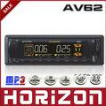 AV62 eléctrico Ajuste Car MP3 Player, visualización del calendario perpetuo, Reproductor MP3