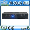 El receptor de satélite Software Descargar Vu Solo2 Mini En Stock procesador 1300 MHz doble sintonizador DVB-S2 Igual VU Solo 2