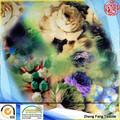 digital novo estilo floral impressão preço tecido de cetim de poliéster e algodão para o vestuário