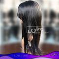 Exelente calidad del 100% sin procesar mongol encajes Siwss pelucas pelo humano virginal se pueden utilizar para mucho tiempo!