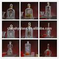 500ml venda quente pequeno frasco de vidro com rolha, esvaziar garrafas de vidro pequeno 500 ml