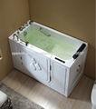 Q377 WOMA pie en la bañera con ducha combo para discapacitados