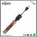 Expect ignite caliente venta de madera 2014 x- fuego electrónicos cigarrillo x- fuego e cig cigarrillo de vapor