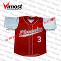 shirt de baseball softball maillot équipe de professionnels