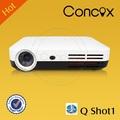 q shot1 portátil proyector 3d proyector de vídeo