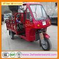 chinese três cabine motocicleta com rodas de triciclo cobertas