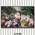 obras de arte del mosaico de vidrio por corte de la mano de la decoración del mosaico del techo del azulejo del mosaico