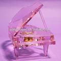 de gama alta hermoso piano de cristal para la decoración de la boda