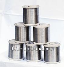 Alta resistência da liga fe-cr-al fio de aquecimento de resistência para o aquecedor elétrico