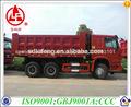 30 toneladas de descarga del howo camiones para la venta