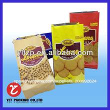 Caliente de pollo asado bolsas/de alimentos de plástico de pie bolsa de ziplock asado de carne de embalaje
