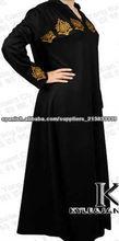 2013 diseño de moda para las mujeres abaya, caftanes, ropa islámica kj-eab001