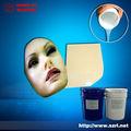 peau silicone sécuritaire de lifecasting pour la fabrication de masques