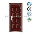 S-107 puertas de acero y marco de la puerta