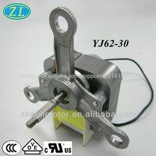 110v alta rpm do motor ac motor elétrico para o forno ventilador yj62-30 monofásica motor de pólo sombreado