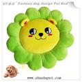 Green Petal with Cartoon dog design Pet Bed,dog mat,luxury pet dog beds