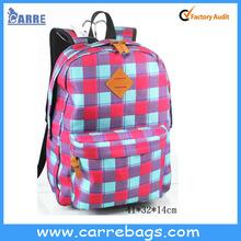 color de la vida de la escuela para las mochilas de los estudiantes de la universidad