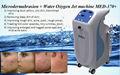 MED-370+ cascara de oxigeno jet, microdermoabrasion 2 en 1 sistema, maquina, equipo