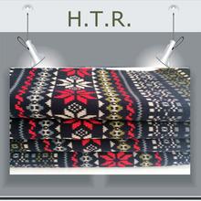 hilado teñido profundo de impresión de tela para ropa arrugada