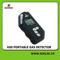 Bateria de lítio de 3V operado monóxido de carbono alarme de gás portátil