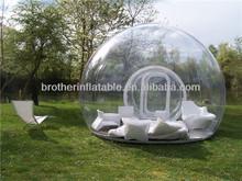 exposição ao ar livre inflável tenda da bolha
