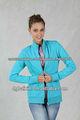 chaqueta deportiva azul agradable para las mujeres