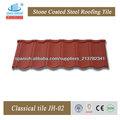 Hojas ondulantes de techo recubierto de color