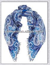 Paisley bufanda/pashmina mantón de impresión