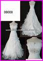 2013 último vestido de boda de la venta caliente con el vestido de novia de descuento
