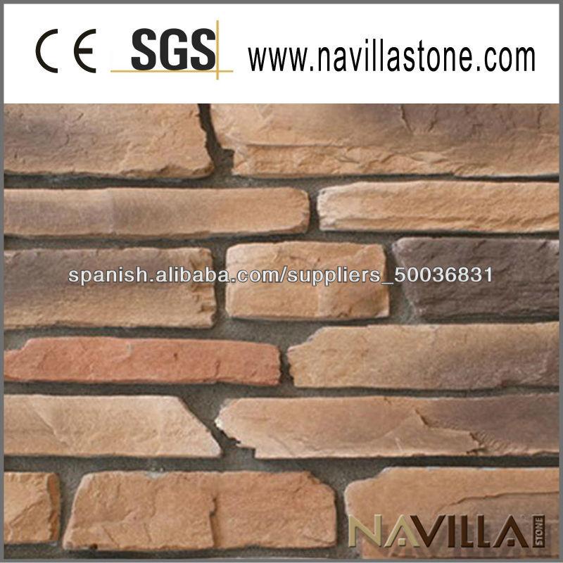 Pared exterior de revestimiento de piedra piedra - Revestimiento exterior piedra ...