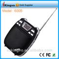 Portátil mini amplificador de voz con micrófono inalámbrico/interfaz usb/la tarjeta del tf/de radio fm