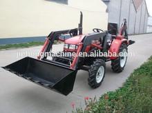caliente de la venta del tractor hecho en china con cargador frontal y retroexcavadora