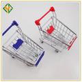 Mini carro de supermercado, mini carro para regalo/mini carrito de la compra