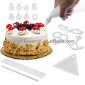 100 pedazo de pastel decoración kit completo conjunto de la decoración