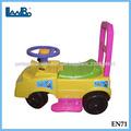 Plástico bebê empurrar carro, crianças de bicicleta com punho, baby carro de plasma
