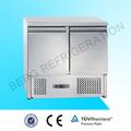 acier inoxydable comptoir réfrigéré