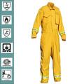 Nomex iiia prueba de fuego de ropa de trabajo, bunker ropa, uniformes de bombero