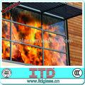 Itd-sf-fgm213 vidrio resistente al fuego