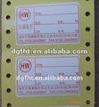 Adesivo perfurado papel& etiqueta com perfuração& etiquetas de papel gomado