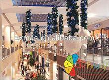 atrium shopping de natal decoração de bola