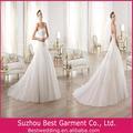 2014 hermoso vestido de novia