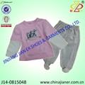 Ropa del bebé para niñas nuevo estilo de invierno 100% de algodón buen precio ropa del bebé conjunto