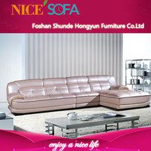 Sala de estar moderna mobiliário confortável l- sofá-forma a807l