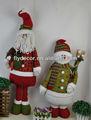 Muñeco de nieve de Santa extensible Decoración navideña