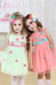 2014 ventas calientes últimos niños se visten de diseño, ropa de bebé encantadores de tul