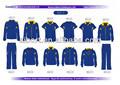 Ssi-2& azul amarillo del club de tenis trajes de deporte